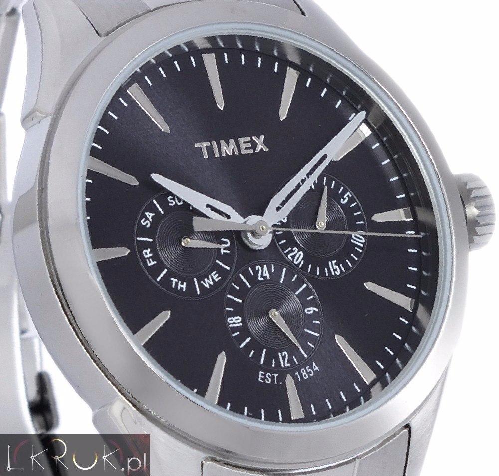 1357a873eb18 reloj timex tw2p97000 caballero plata original envío gratis. Cargando zoom.