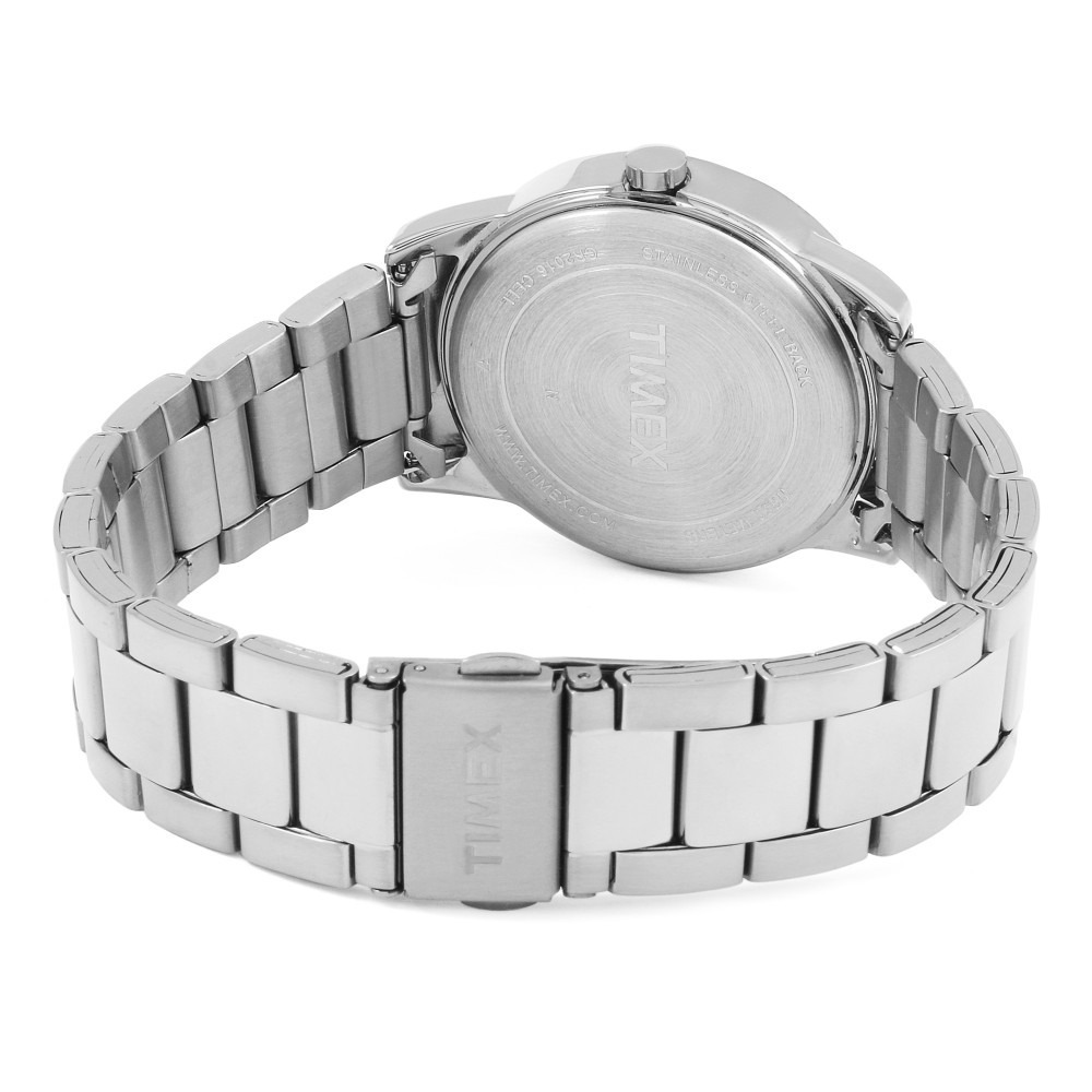 a47b33c1fa00 reloj timex tw2r23300 acero plateado dial bco de caballero. Cargando zoom.