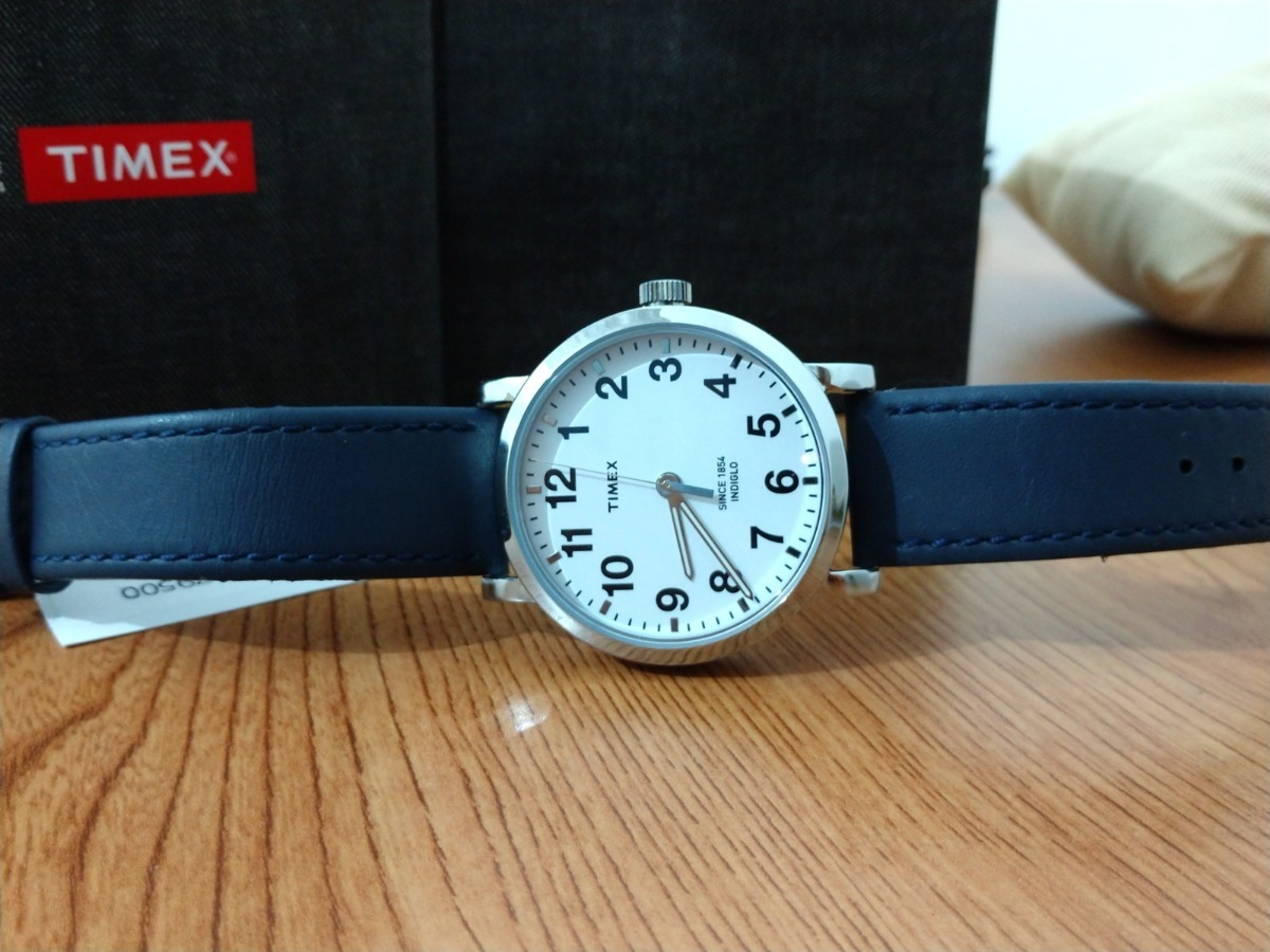 de4a0719ee3a Reloj Timex Tw2r79500 Nuevo Y Original Correa De Piel -   999.00 en ...