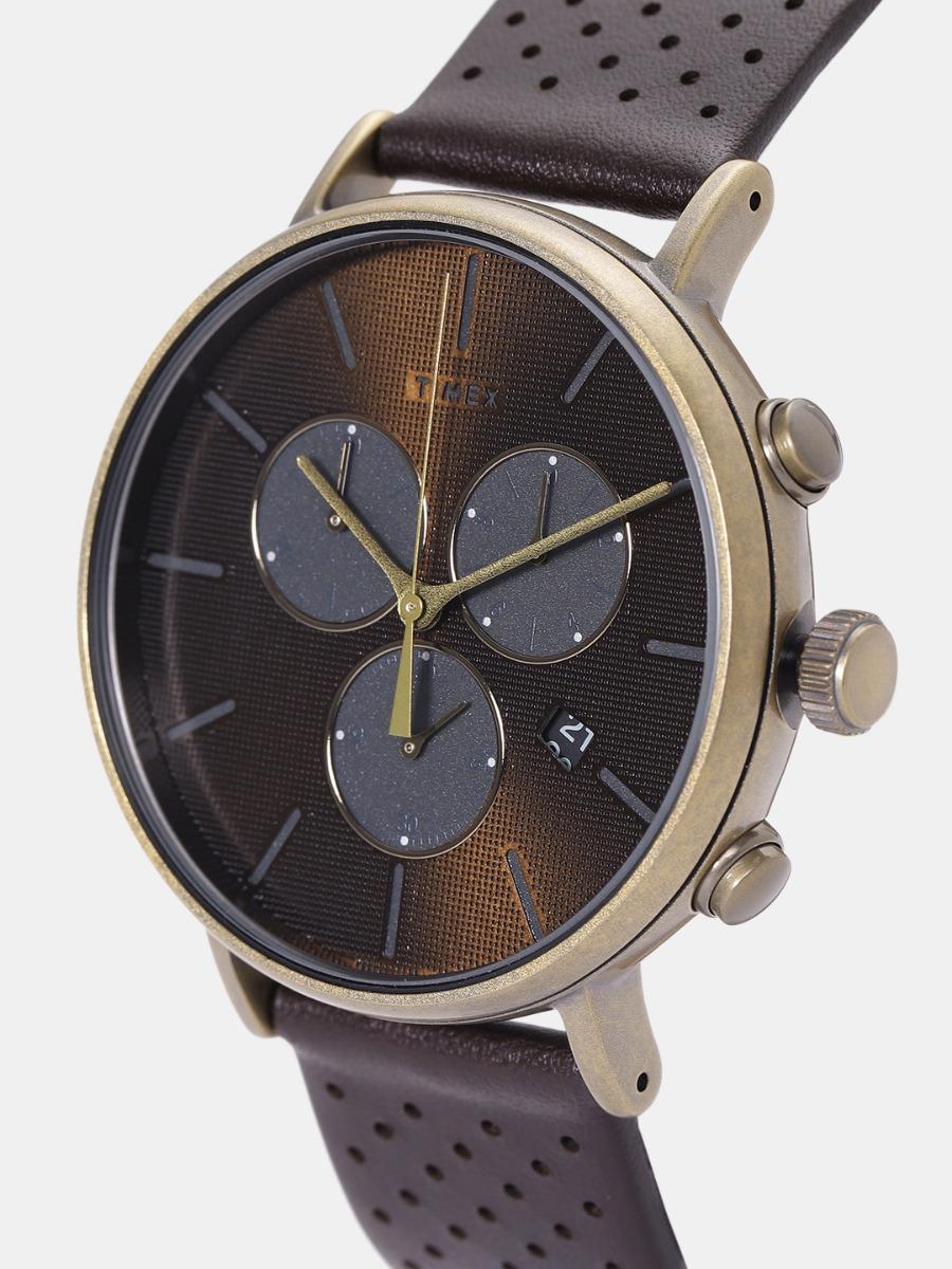 ae2dd9fe6a70 reloj timex tw2r80100 fairfield supernova chrono café oro. Cargando zoom.