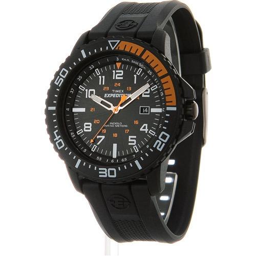1d372484114b Reloj Timex Uplander Para Hombres Negro naranja