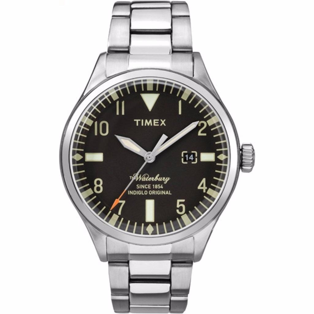 5e64d06f455a reloj timex waterbury tw2r25100 caballero plateado original . Cargando zoom.