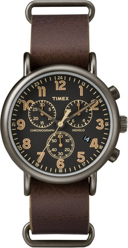 reloj timex weekender chrono oversized -tw2p85400-