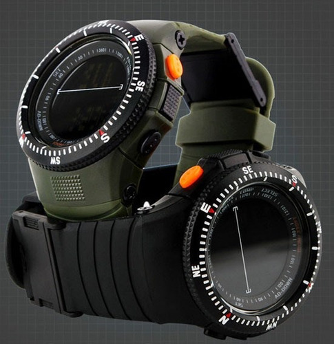 reloj tipo militar sport navy seal 4 colores sumergible 50m