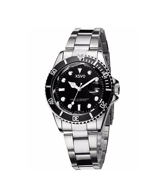 Acero Tipo Fino Reloj Inoxidable Hombre Rolex Elegante SVMUpz