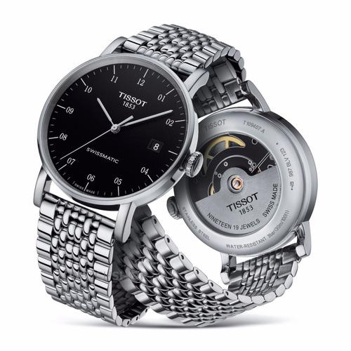 reloj tissot everytime swissmatic original t1094071105200