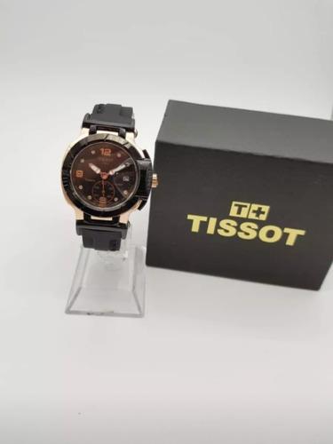 reloj tissot hombre t-race deportivo calendario con caja new