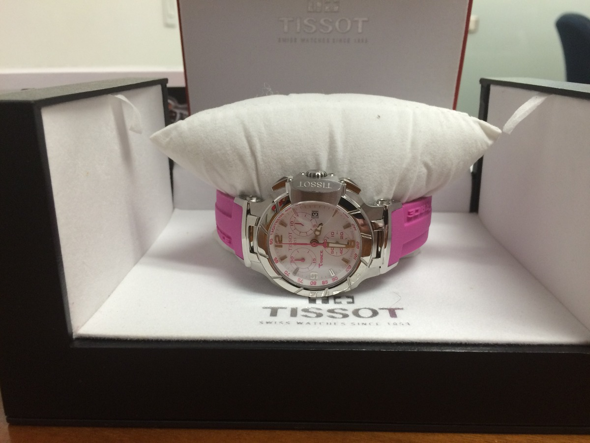 Reloj Tissot T Race Para Mujer T048217 Rosa Oportunidad
