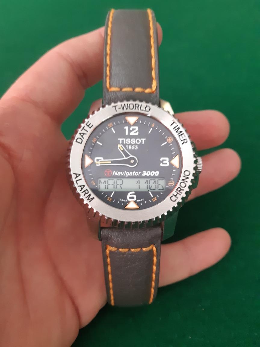 Tissot 900 Reloj 3000Touch4 Navigator 00 f6Ygbyv7