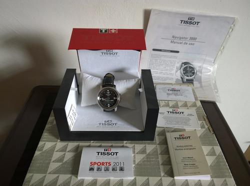 reloj  tissot  navigator 3000 ( touch ) con caja & manuales