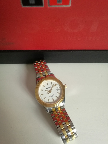 reloj tissot para dama modelo pr 50.115846707