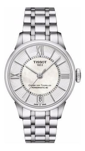 reloj tissot powermatic 80 t0992071111800 mujer agente of.