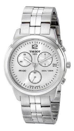reloj tissot pr 100 chrono t0494171103700 hombre | original