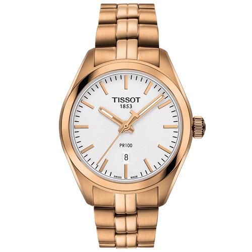 reloj tissot pr 100 lady t1012103303101 cara plata ghiberti