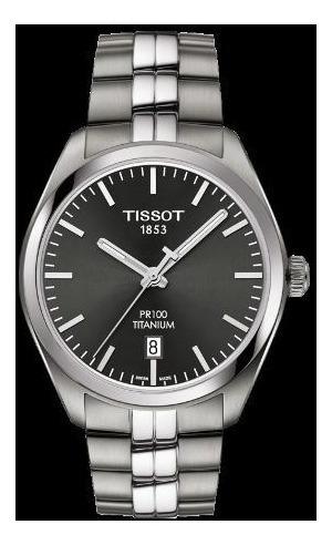 reloj tissot pr 100 titanium t1014104406100 hombre   envío