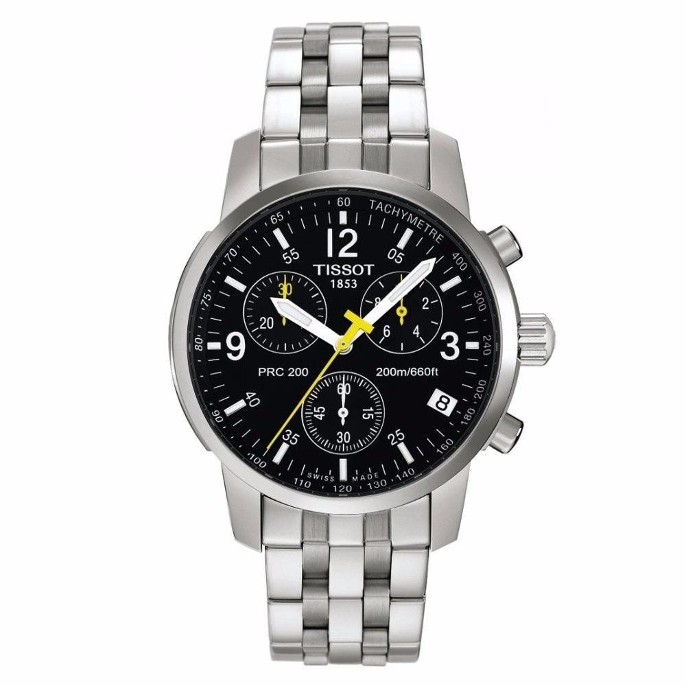 c530abc3d Reloj Tissot Prc 200 Fondo Negro. - $ 7.850,00 en Mercado Libre