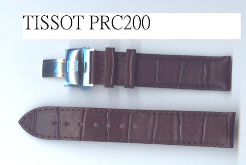 reloj tissot prc200 correas cafe  repuesto original