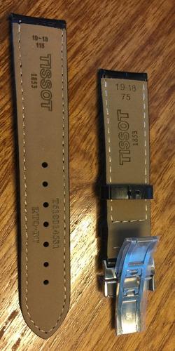 reloj tissot prc200 correas de repuesto cuero color negro