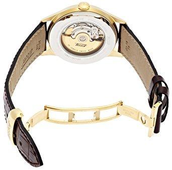reloj tissot t marron masculino u13