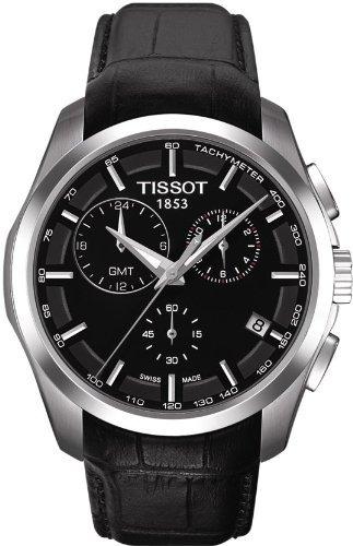 reloj tissot t negro masculino u8
