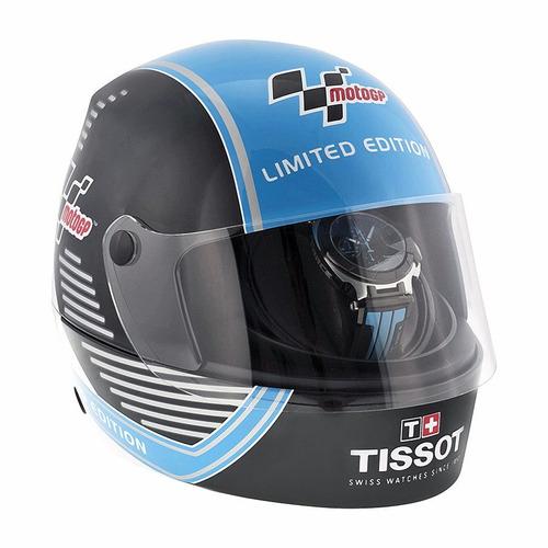 reloj tissot t-race automático caucho azul t0484272705702