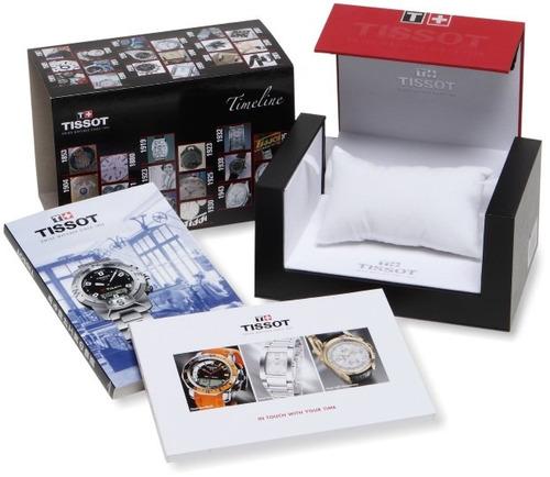 reloj tissot t-sport prs 516 black day date importado