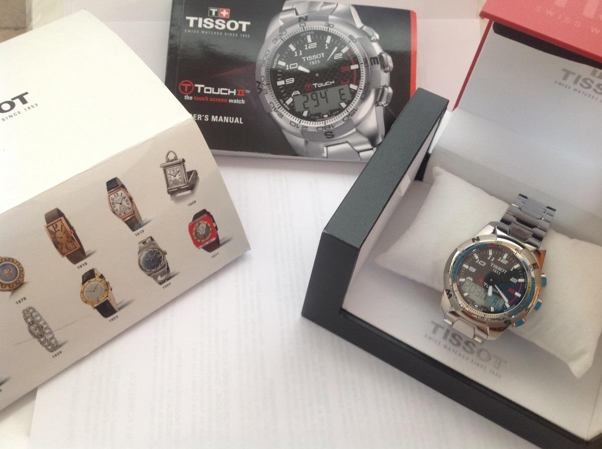 reloj tissot t touch ii de titanium s 2 499 00 en mercado libre rh articulo mercadolibre com pe Tissot T-Touch Titanium Watch Tissot T-Touch Titanium Watch