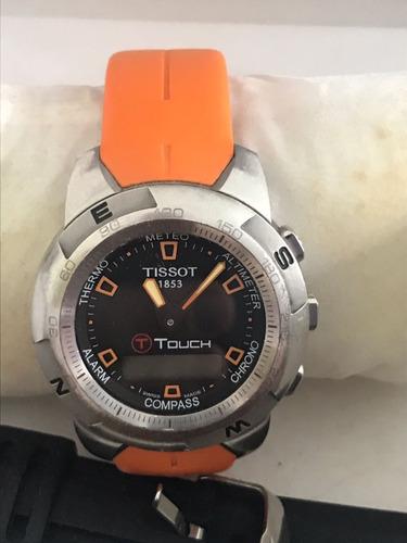 reloj tissot t touch version orange abc