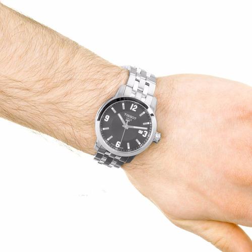 reloj tissot t0554101105700 prc 200 cristal zafiro suizo