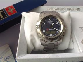 c45f91f035f8 Reloj Tissot Touch. Acero. Azul. Pantalla Táctil ¡excelente!