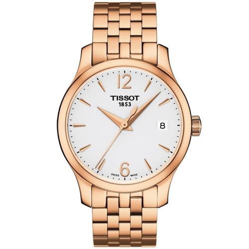 reloj tissot tradition original para dama t0632103303700