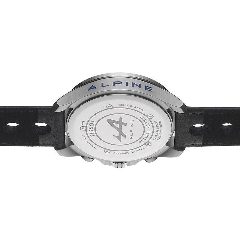 Reloj Tissot V8 Alpine T106 417 16 201 01 Carbono Piel Negro