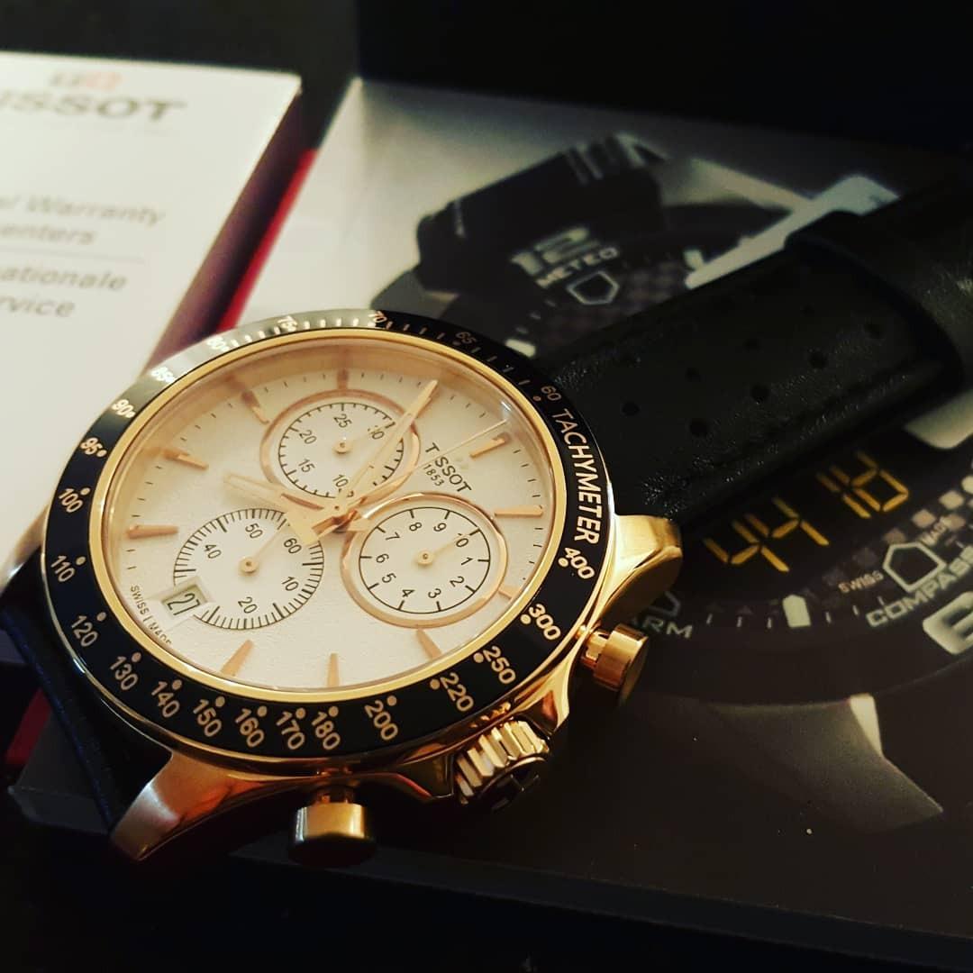 Reloj Tissot V8 Linea Nueva Rose Gold Cuero Entrega Inmediat ...