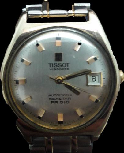 reloj tissot visodate automatic seaster pr 516