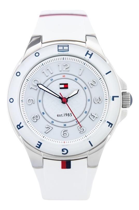 5ad6cdc530c3a7 Reloj Tommy Hilfiger 1781271 Carley - Blanco Mujer - $ 8.695,00 en ...