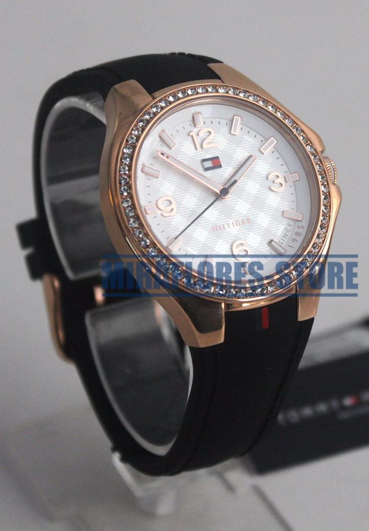 reloj tommy hilfiger 1781375 sport luxury oro rosa dama. Black Bedroom Furniture Sets. Home Design Ideas
