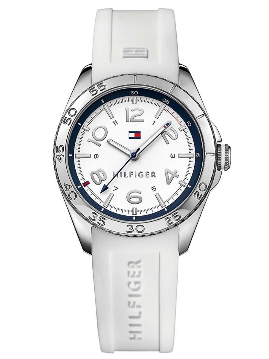 12758f59ac321 Reloj Tommy Hilfiger 1781635 - Mujer Blanco Malla Silicona -   5.836 ...