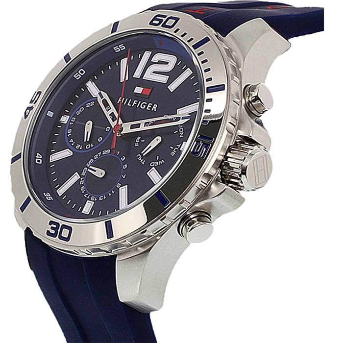 Ladrillo Pórtico calibre  Reloj Tommy Hilfiger 1791142 Display Crono Silicon Original - $ 399.900 en  Mercado Libre