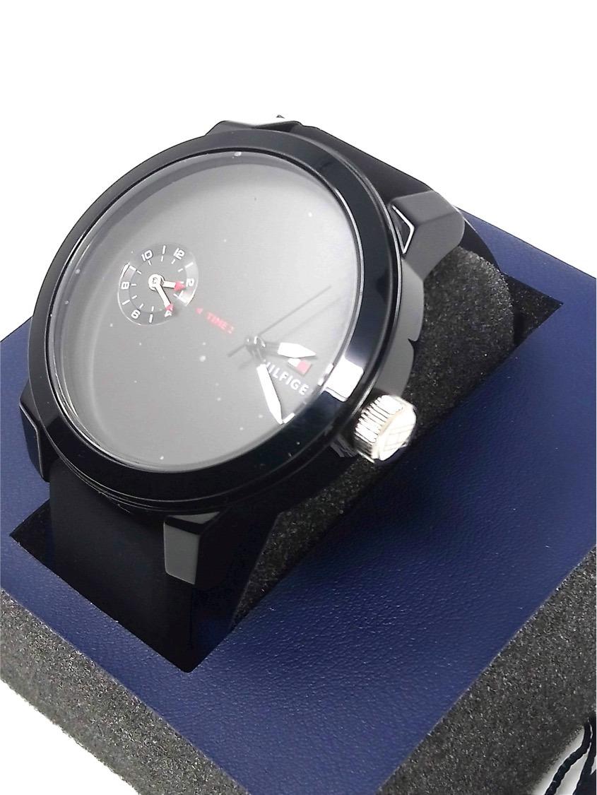 834f6f5ccf57 reloj tommy hilfiger 1791326 casual hombre negro. Cargando zoom.