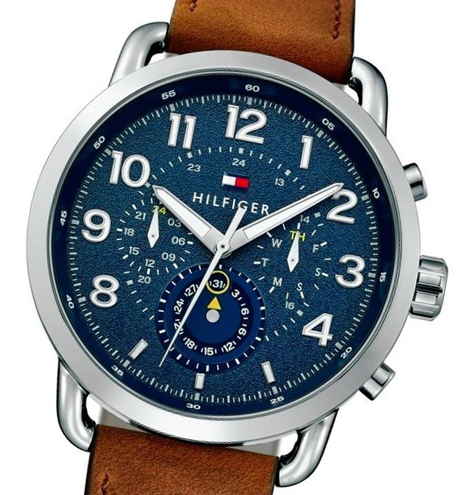 Reloj Tommy Hilfiger 1791424 Multifunción Malla Cuero - $ 4.795,00 ...