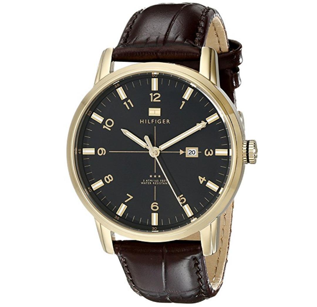 Reloj Tommy Hilfiger Con Correa De Cuero Para Hombre Nuevo - S  600 ... 50945c1aedcf