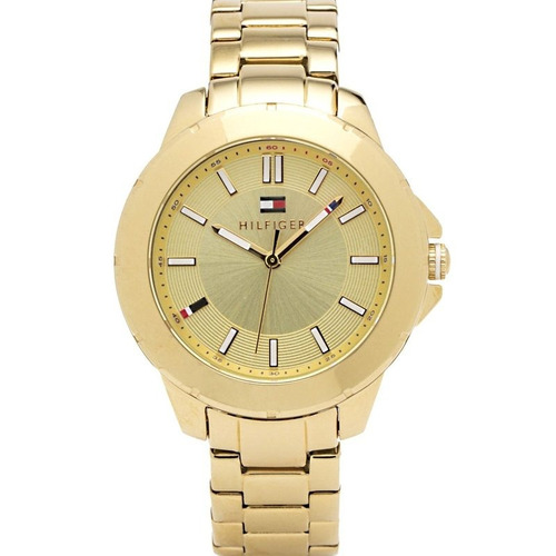 reloj tommy hilfiger acero gold 1781413 mujer | original