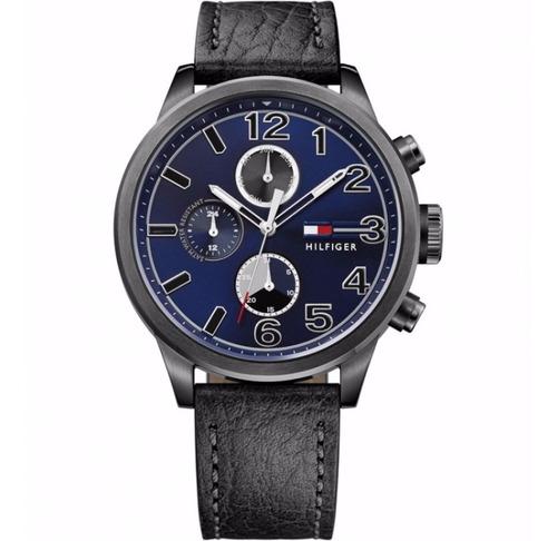 reloj tommy hilfiger con malla de cuero de hombre 1791241
