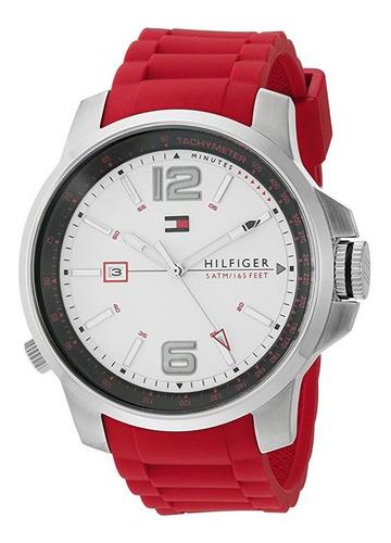 reloj tommy hilfiger cool sport rojo silicón hombre 1791219