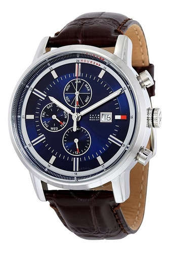 reloj tommy hilfiger cuero caballero 1791244 original