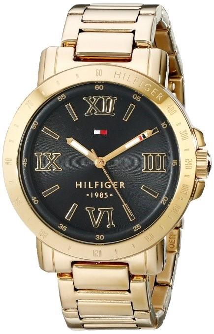 f226e15afcda Reloj Tommy Hilfiger Dama Dorado Con Negro Original -   2