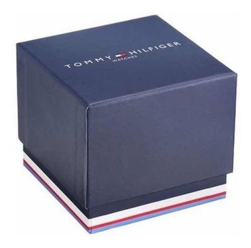reloj tommy hilfiger de hombre con malla de cuero 1791520