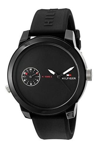 reloj tommy hilfiger 'denim' (modelo: 1791326) de cuarzo, i