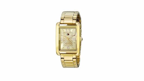 reloj tommy hilfiger dorado (dama)