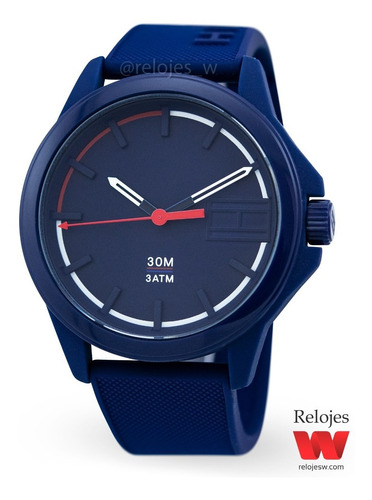 reloj tommy hilfiger hombre 1791625 azul